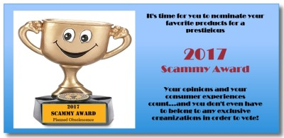 Your Vote Counts: The 2017 Scammy Awards
